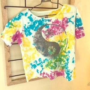 Urban Outfitters 'Hometown Hero's' tie dye shirt